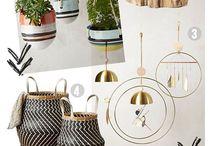 Home Decor Inspiration / Beautiful home decor, colorful home decor, scandinavian design, rustic home inspiration