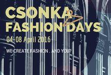 Csonka Fashion Days / A Digitális Témahétre tervezett projektünk oldala
