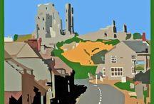 Dorset Landscapes / Favourite Dorset scences