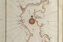 Piri reis / piri reis, harita, old map