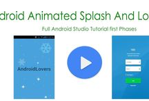 Android Animated Splash Screen With Login Screen Tutorial