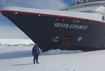 Silver Explorer - Port Lockroy / Excellent photos taken yesterday as Silver Explorer traversed the Lemaire Channel off Antarctica.