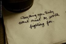 Quotes / by Jennifer Strickler
