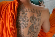 Buddhist and Sak Yant Tattoo