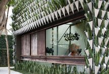 Groene gevels en daken