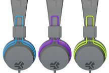 Neon On-Ear Headphones / Rock-star comfort. Without the hassle of touring. Instantly boost your mood with electric colors, a smooth, sleek look, and radical sound. While you're listening to pristine tunes cruising campus, hitting the beach, or getting in the zone, you'll be sure to stand out and turn heads - without the rock star price tag. With the Neon Headphones you can #ROCKITOUT anytime, anywhere. / by JLab Audio