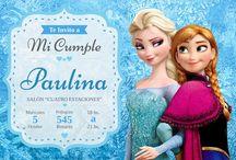 Evento - Cumpleaños Temática Frozen / #decoración #tarjetas #sorpresitas #candybar