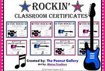 Rock Star Classroom