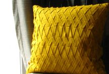 pleated cushion covers