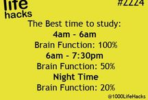 Life hacks (more about study)