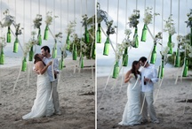 Jodi Yarnal- PDV / Jodi's wedding at the fabulous Punto De Vista, Designe by Aimee Monihan, lead designer of Tropical Occasions. Inspired by the lush colors found in peacock feathers, aubergine, dark blues, deep turquoise & greens. With a touch of whimsy...