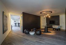Project Quaili Time Design - Z-parket - Floor: Paris / In the office of Quaili Time Design you can find this lovely aged Z-parket Paris floor. Images Quali Time Design - qtd.be #zparket #hardwoodflooring #parquetflooring #solidtimberflooring