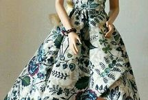 šaty barbie inspirace