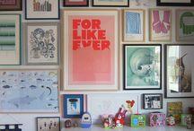gallery walls / by Melissa Anderson