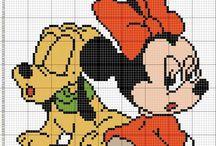 Punto croce Disney