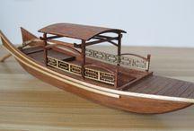 деревянные модели