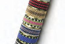 Peyote bracelets-patterns and tutorials
