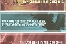 percy jackson and the olympians/ heroes of olympus