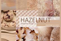Pantone 2017: Hazelnut Wedding