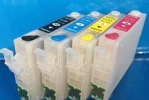 Refillable Ink Cartridges Epson / Special refillable printer ink cartridges for use with Epson printers.