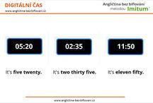 Hodiny v angličtině / Základní gramatická pravidla pro určování času v anglickém jazyce.