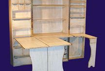 Sewing cabinets / Sewing cupboards