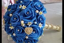 Bouquet in fommy