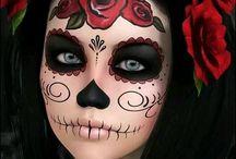 Dia de los murtos makeup