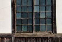 DIY:  Old Window Pane ideas