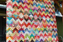 Great idea 1/2 sq triangles!!
