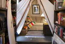 Where I want to sleep / Beds that I dream of sleeping in. Relaxing and inspiring.