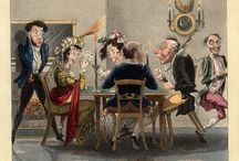 High Society Pastimes / Historic prints on how 19-the century high society spent its time / by Melanie Grundmann