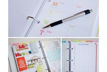 diary & planners / inspiration from the world of diaries and planners