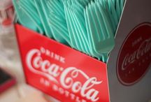 Coca-Cola Party / Inspiration for the perfect red Coca-Cola Party
