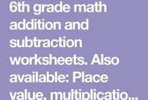 maths grade6