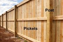 Garduri si porti din lemn