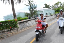 ElbowBeachCycles: Happy Clients In Bermuda / A sampling of our happy clients enjoying Bermuda by scooter, moped & electric bike
