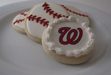 Sports Cookies / Decorated sugar cookies with a sports theme!