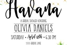 Party: Havana Night Invite and Printables