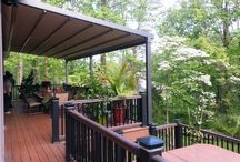 Pergola Awnings / The Pergola reinvented! Pretty Pergola and Awesome Awning all in one. Shade from sun and shelter from rain- even in high winds. Go out & play...Stand up to Mother Nature at the touch of a button!