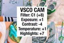 Ideias de edição no VSCOCam