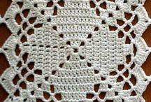 Cuadros en Crochet