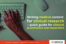 Medical Writing Blog / Medical Writing Experts blogs collection. Medical Writing experts is a leading global provider of scientific, clinical and medical communication services