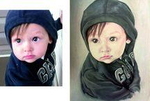 Portraits / Yuliya Nea