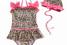 Toddler Girls' Swimsuit / by Alex Plastering Contractor
