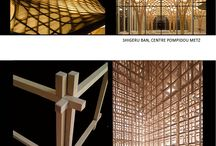 Architecture : Wood assembly