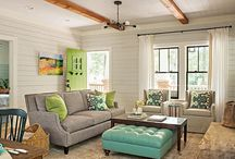 Interior small timber lounge ideas
