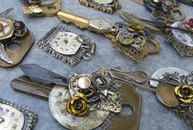 Key Jewelry/ old keys