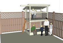 Tiny town playground ideas