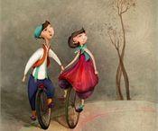 Turine Tran  / Illustrations by commercial Children, digital painting, Hand rendering illustrator Turine Tran  represented by leading international agency www.illustrationweb.com